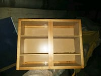 brown wooden 3-layer shelf Indianapolis, 46202