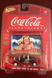 Coca-Cola drive to the beach die cast model in package