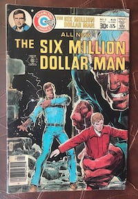 Six Million Dollar Man / no2 comic book / complete 1976 board game /  Toronto, M5V 2X5