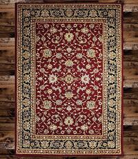 Brand new traditional design area rug size 8x11 nice red carpet rugs and carpets  Burke, 22015