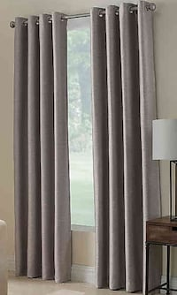 "84"" Silver Room Darkening Curtain Panels"