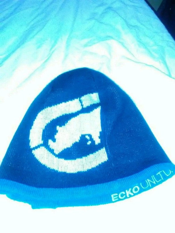 79b1c30879b Used Ecko Blue Winter beanie for sale in Queens - letgo