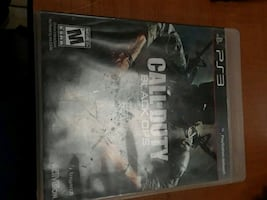 Call of Duty Black Ops PlayStation 3 video game