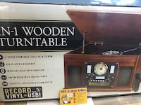 8-1 WOODEN TURNTABLE  Toronto, M1H 2A7