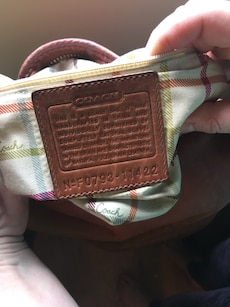Medium to large Coach bag