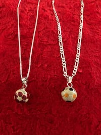 silver chain necklace with heart pendant Metairie, 70003