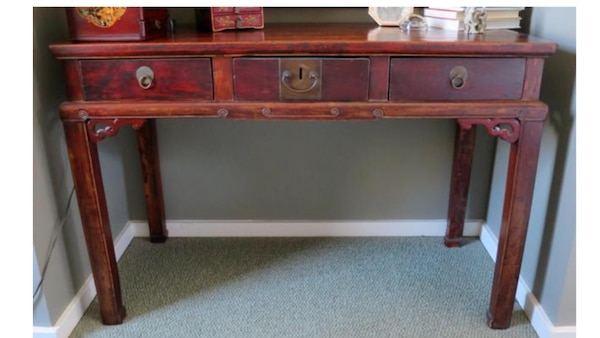 Antique Chinese desk - Used Antique Chinese Desk For Sale In Reston - Letgo