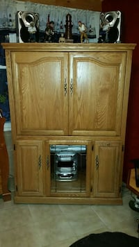 brown wooden tv armoire Feasterville-Trevose, 19053