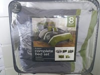 gray and green comforter pack Calgary, T3J 0A5