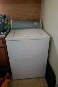 white top-load clothes washer Hampton, 23663