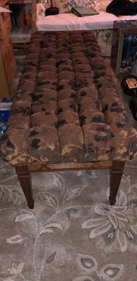 Brown antique bench with four legs and condition is like new! Summit, 07901