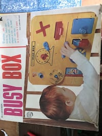 Busy box child activity box