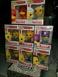 The Simpsons funko pop set (FIRM PRICE) Toronto, M1L 2T3