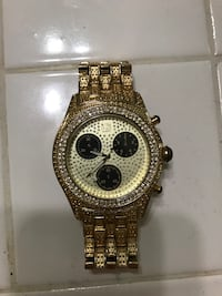 Iced Out Watch  Lancaster