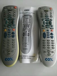 2 COX Cable Remotes with Book Las Vegas, 89147