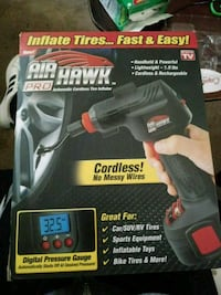 Air Hawk Pro automatic cordless tire inflator Salt Lake City, 84115