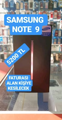 SAMSUNG GALAXY NOTE 9 128 GB  Pazaryeri Mahallesi, 48300