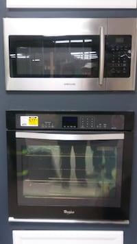 Microwave, Oven, and Glass Cook top SYKESVILLE