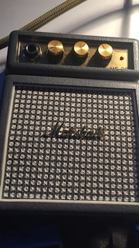 black and gray Marshall guitar amplifier St Catharines