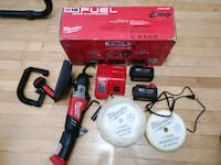Car Polisher and Buffer (cordless) Dorval