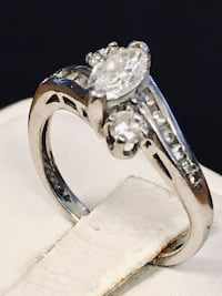White gold diamond engagement ring Riverview, 48193
