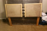 brown wooden bed headboard and footboard Oxon Hill, 20745