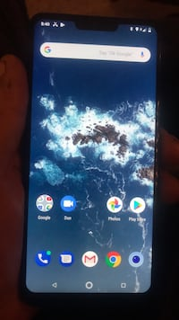 blue Samsung Galaxy Android smartphone 3150 km