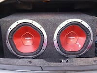 black and red Xplod subwoofer speaker Tallahassee, 32305