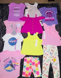 Baby girl clothes 3t new bundle 3 jean. Shorts included but not in pic all for $50 Temescal, 92883