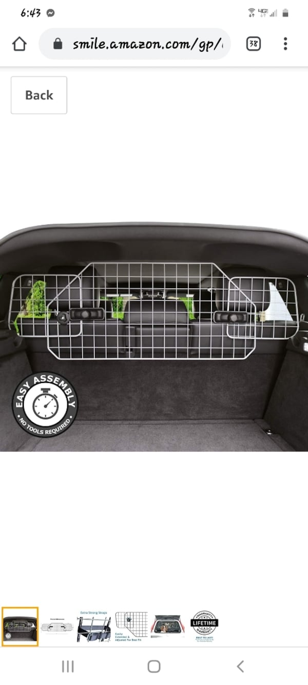 AUTO SUV GATE for pets 1