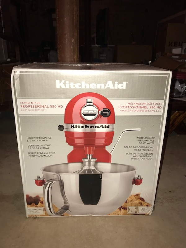 Used Kitchenaid Professional Stand Mixer Bowl Lift For Sale In