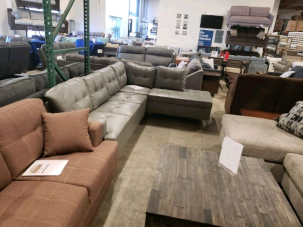 Brand New Gray reversiable sectional Sofa tax included free delivery