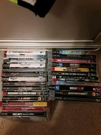 assorted PS3 game case lot Greenbelt