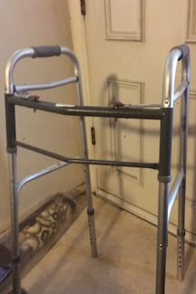 A tall walker for sale to help you walk better for just 10.00