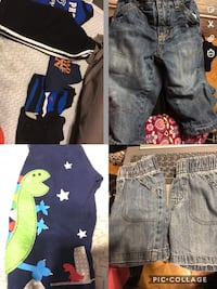Baby boy assorted clothes