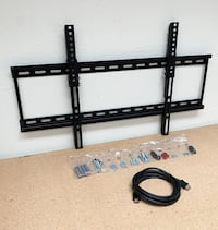 """New $18 Tilt 32""""-65"""" TV Wall Mount Bracket and 10ft HDMI Cable Combo Set South El Monte"""