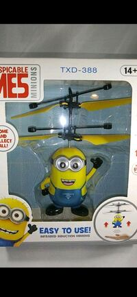 Lot of 5 Infrared R.C. minion helicopters new