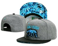 CALI KUSH Heather Gray Snapback San Gabriel, 91776