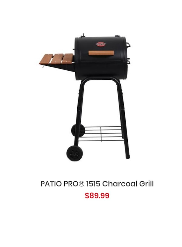 Used Chargriller Patio Pro Grill For Sale In Lithonia Letgo