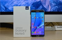 Samsung Galaxy Note 5 Unlocked With All Accessories(Fix Price). Calgary