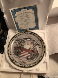 """""""Cherish your family"""" collector plate dish with certificate Vaughan, L4L 8R8"""