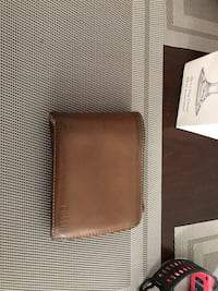 Brown fossil wallet genuine leather  Guelph, N1E 0M2