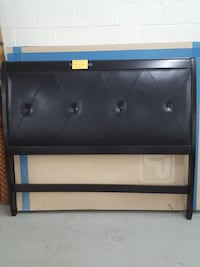 BRAND NEW BLACK QUEEN HEADBOARD 294 mi