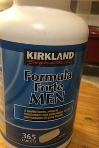 Men's multivitamins  Abbotsford, V2S 7K1