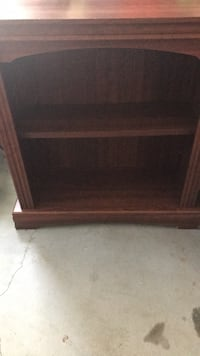 Wood Finished Book Shelf