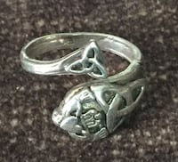 Spoon Ring - Claddagh design - silver Pasadena, 21122