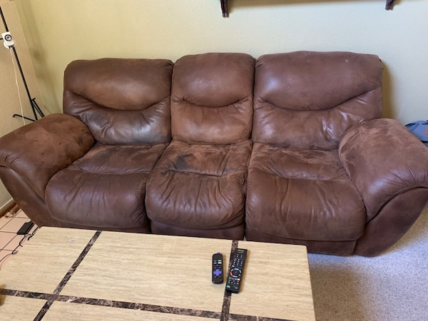 Fine 3 Seater Reclining Sofa Plus 2 Seater Reclining Love Seat Pdpeps Interior Chair Design Pdpepsorg
