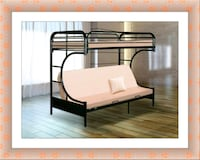 Twin futon bunkbed frame free delivery McLean