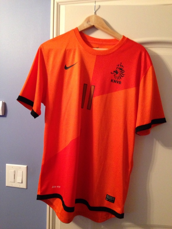 the best attitude 06ecf d779e Arjen Robben Euro 2012 Holland/Netherlands Shirt