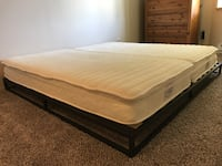 LESS THAN A YEAR OLD KING/2 FULL MATTRESS  Seattle, 98102